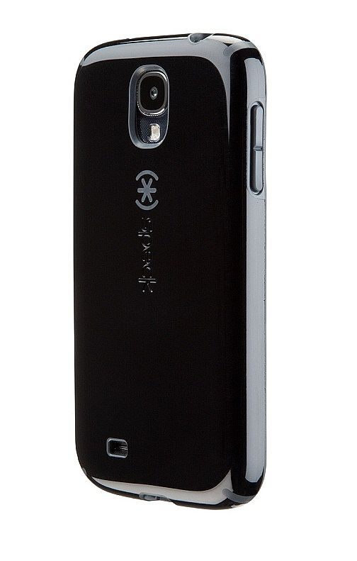 outlet store dfcbc f40cf Speck CandyShell Case for Samsung Galaxy S4 - Black/Grey at ...