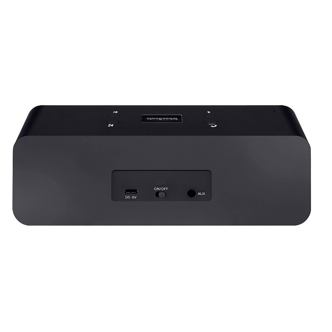 merkury beatz rockbox bluetooth speaker black at. Black Bedroom Furniture Sets. Home Design Ideas