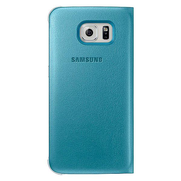 samsung s6 flip case blue
