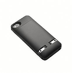 Prong PocketPlug Case + Charger In-One for iPhone 4/4s - Black
