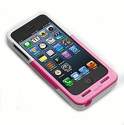Prong PocketPlug Case + Charger In-One for iPhone 5/5s - Pink