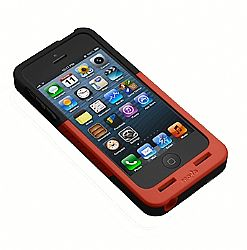 Prong PocketPlug Case + Charger In-One for iPhone 5/5s - Red