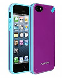 PureGear Slim Shell Case for iPhone 5 (Passion Fruit)