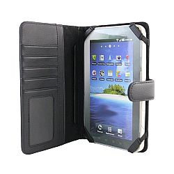 Scosche Folio for Galaxy Tab (Black Leather)