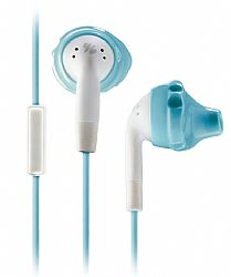 Yurbuds Inspire Talk for Women (1-Button Mic) Sport Earphones - Aqua