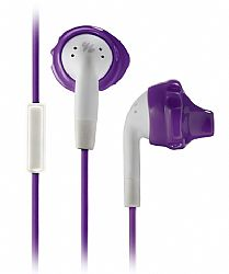 Yurbuds Inspire Talk for Women (1-Button Mic) Sport Earphones - Purple