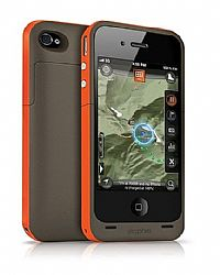 Mophie Juice Pack Plus Battery Case Outdoor Edition / Wayfinding App for iPhone 4 & 4S