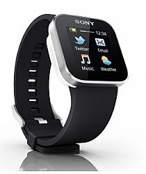 Sony Ericsson SmartWatch Android� watch (Black) OPEN BOX