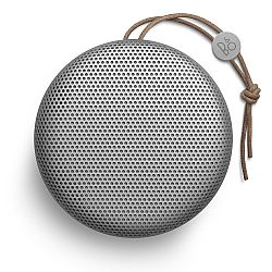 B&O PLAY by Bang & Olufsen Beoplay A1 Portable Bluetooth Speaker Natural Silver