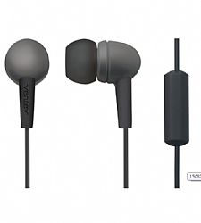 Ventev Earbuds Pro with mic for 3.5mm Devices - Gray
