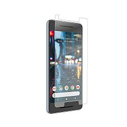 Zagg Invisible Shield Glass Defense Screen Protector for Google Pixel 2 - Case Friendly - Clear