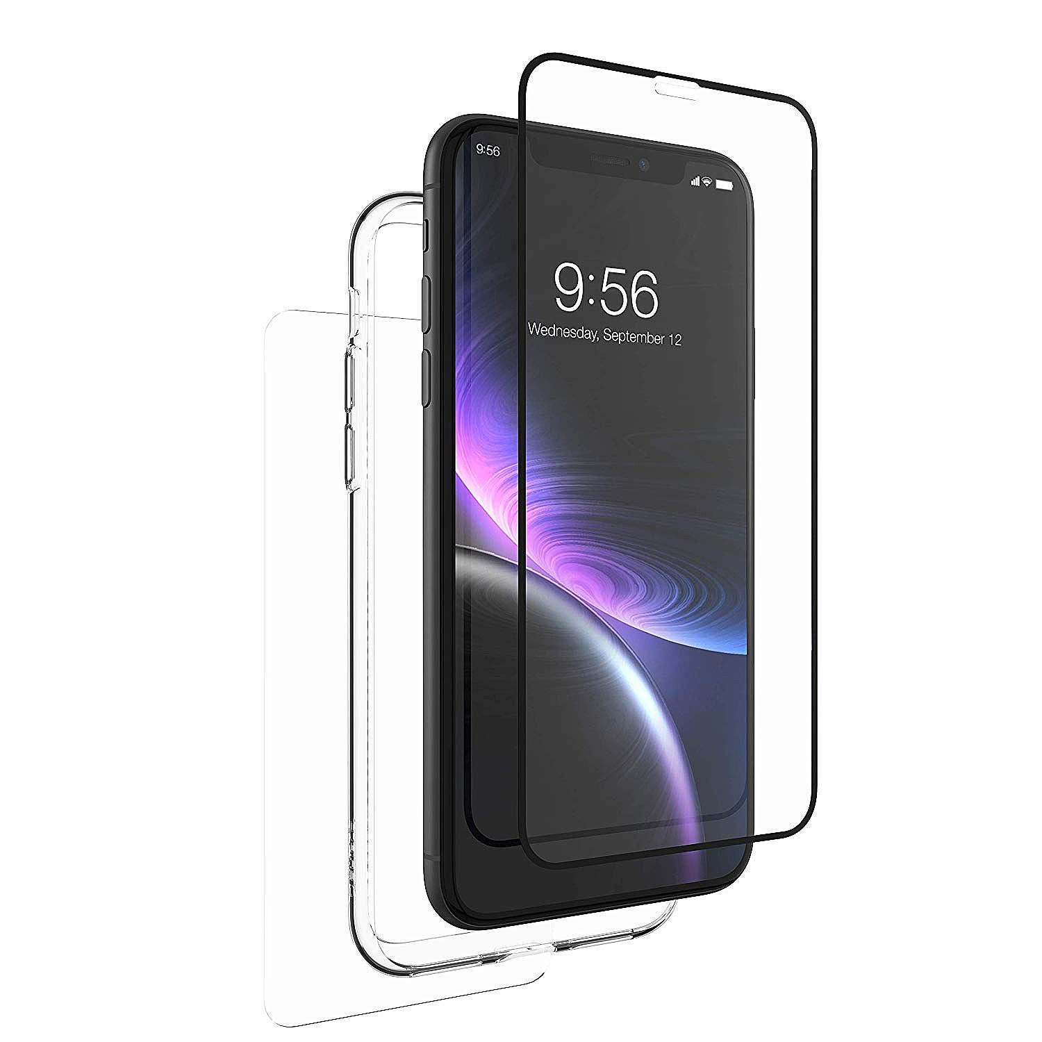 100% authentic 9a17d 33dfb ZAGG InvisibleShield Glass+ 360 - Front + Back Screen Protection ...