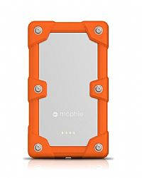 mophie Juice Pack Powerstation Pro 6000mAh Ruggedized External Battery for iPhone, iPad , Smartphones - Orange