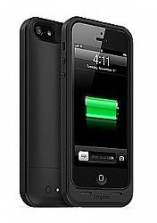 mophie Juice Pack Air Charging Case for Apple iPhone 5 - Black (1700mAh)