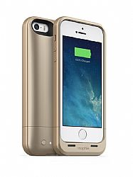 mophie Juice Pack Air Rechargeable External Battery Case for iPhone 5S/ 5 (1700 mAh) - Gold