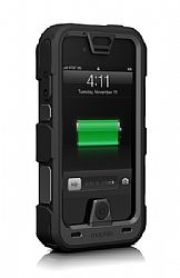 mophie Juice Pack Pro Ruggedized Rechargeable External Battery Case for iPhone 4/4s (2,500 mAh) Black