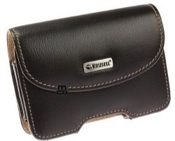 Krusell 94117 Pictor Universal Leather Multidapt Case with Spring clip