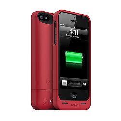 mophie juice pack helium SPECTRUM COLLECTION for iPhone 5 (1500mAh) Red