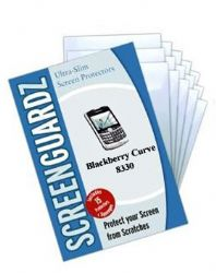 ScreenGuardZ Ultra-Slim Screen Protector for Blackberry Curve 8330