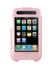Belkin F8Z338PNK Formed Leather Case for iPhone 3G / iPhone 3G S (Pink)
