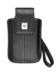 BlackBerry 9530 Storm Leather Tote (Black)