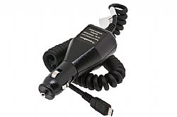 Blackberry 12V / 24V DC Rapid Micro-USB Car Charger for 9530 / 9500 / 8220 / 8900 / TOUR