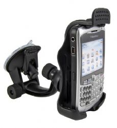 Arkon Travelmount Mini Windshield Dash / Console Mount for BlackBerry Curve Series Phones / 9700 / 9630