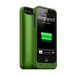mophie juice pack helium SPECTRUM COLLECTION for iPhone 5 (1500mAh) Green