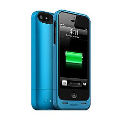 mophie juice pack helium SPECTRUM COLLECTION for iPhone 5 (1500mAh) Blue