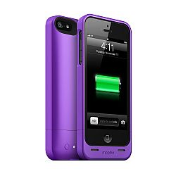 mophie juice pack helium SPECTRUM COLLECTION for iPhone 5 (1500mAh) Purple