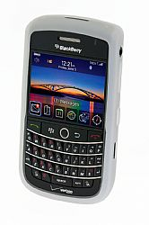 Blackberry Rubberized Skin Case for Blackberry 9630 Tour  / 9650 Bold (White)