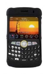 Otterbox Impact Series silicone skin Case for Blackberry 8350i (Black)