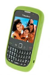 Blackberry Rubberized Skin Case for Blackberry 8520 / 8530 / 9300 (Green)