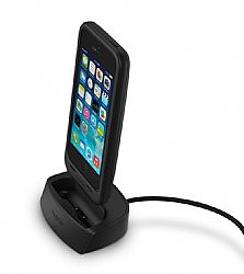 mophie Juice Pack Dock Desktop Charging Dock made for Juice Pack for iPhone 5 - Black