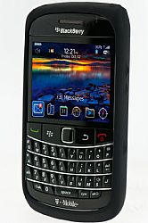 Blackberry Rubberized Skin Case for Blackberry 9700 / 9780 (Black)