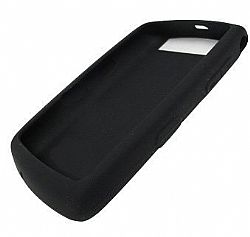 BlackBerry Rubberized Skin Case for 9520 Storm 2 (Black)