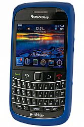 BlackBerry Rubberized Skin Case for 9700 / 9780 (Dark Blue)