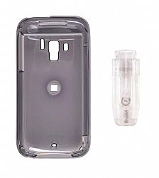Wireless Solutions Snap-On Case (front/back) with removable ratcheting belt clip for HTC Touch Pro 2 (smoke)
