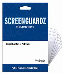ScreenGuardZ Ultra-Slim Screen Protector for HTC HD2