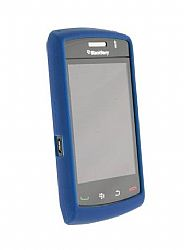 Blackberry HDW27287004 Silicone Skin Case for Storm 2 (Dark Blue)