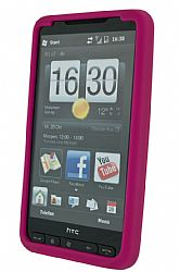 HTC Silicone Case for HTC HD2 (raspberry)