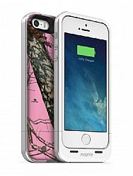 mophie Juice Pack Air Rechargeable External Battery Case for iPhone 5S/ 5 (1700 mAh) - Camo Pink