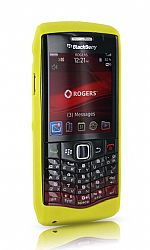 BlackBerry Skin Case for 9100 Pearl 3G (Yellow)