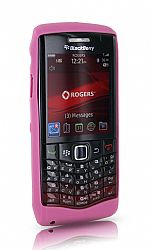 BlackBerry Skin Case for 9100 Pearl 3G (Pink Henna)