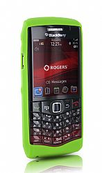 BlackBerry Skin Case for 9100 Pearl 3G (Green Waterloo)