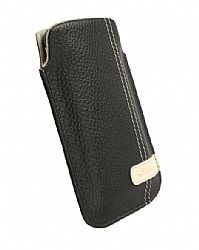 Krusell Gaia Mobile Pouch for Apple iPhone 4 (Black Large)
