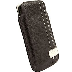 Krusell 95296 Gaia Mobile Pouch for Apple iPhone 4/4S - Brown