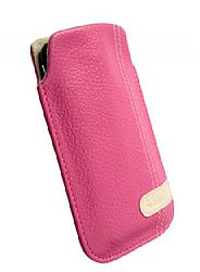 Krusell 95300 Gaia Large Mobile Pouch for Apple iPhone 4/4S and other Mobile Phones - Pink