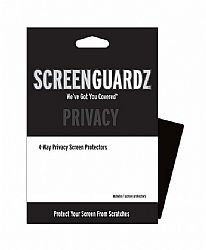ScreenGuardz Privacy Screen Protector for iPhone 4 and 4S