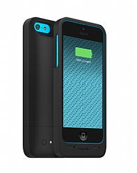 mophie Juice Pack Rechargeable Battery Case for iPhone 5C (1500 mAh) Black